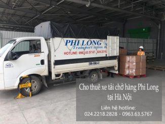 Dịch vụ taxi tải Hà Nội tại phố Hoàng Hoa Thám