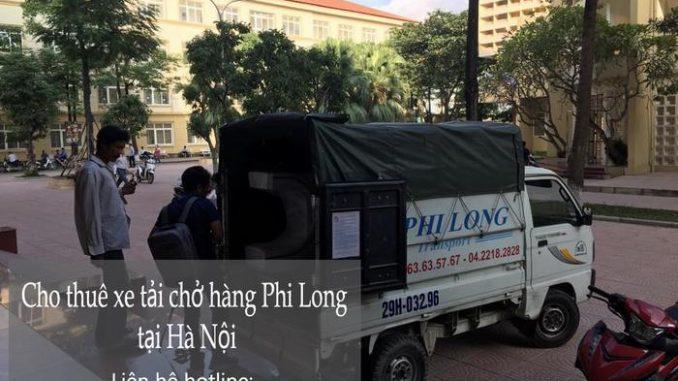 Dịch vụ taxi tải Hà Nội tại phố Khúc Hạo