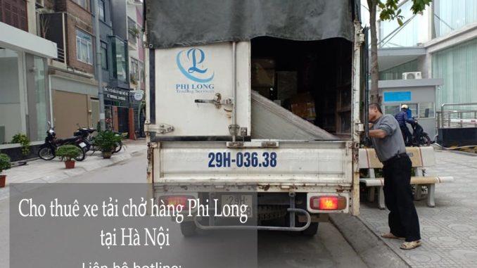 Dịch vụ taxi tải Phi Long tại phố Lê Ngọc Hân