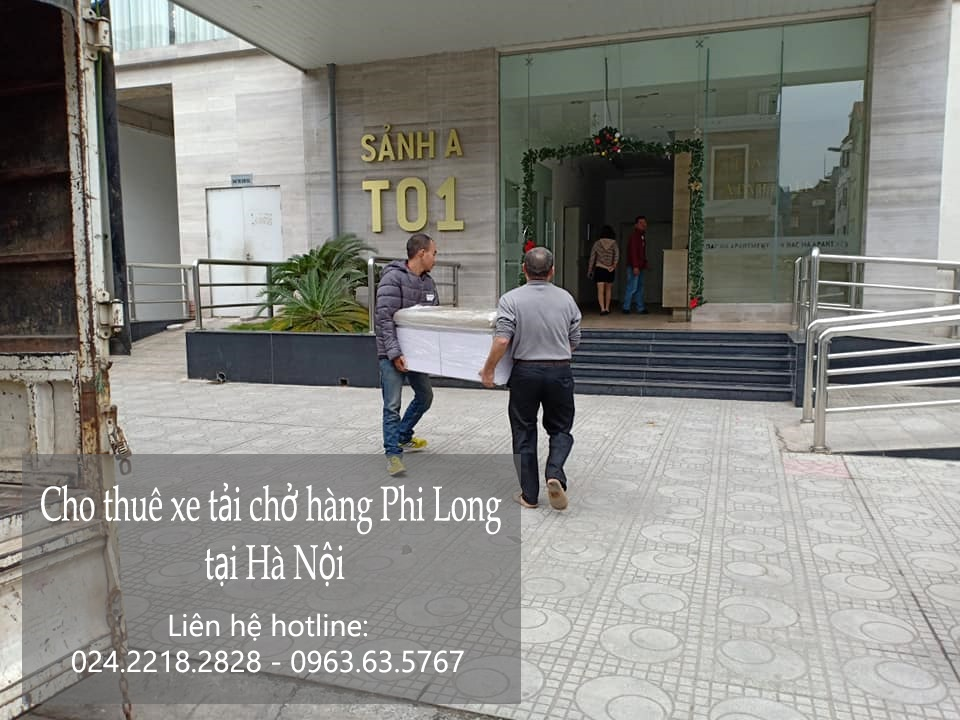 Taxi tải Hà Nội tại phố Giang Văn Minh