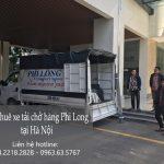 Dịch vụ taxi tải Hà Nội tại phố Minh Khai