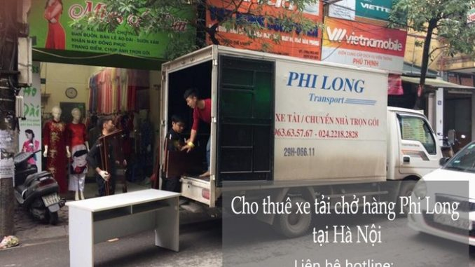 Taxi tải Hà Nội tại phố Hà Huy Tập