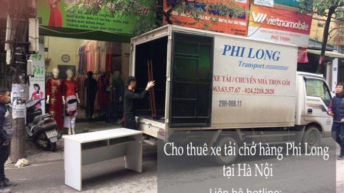 Dịch vụ taxi tải Hà Nội tại đường Nguyễn Phong Sắc