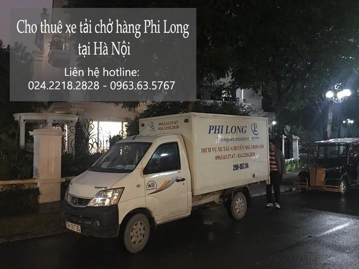 Dịch vụ taxi tải Hà Nội tại phố An Xá 2019