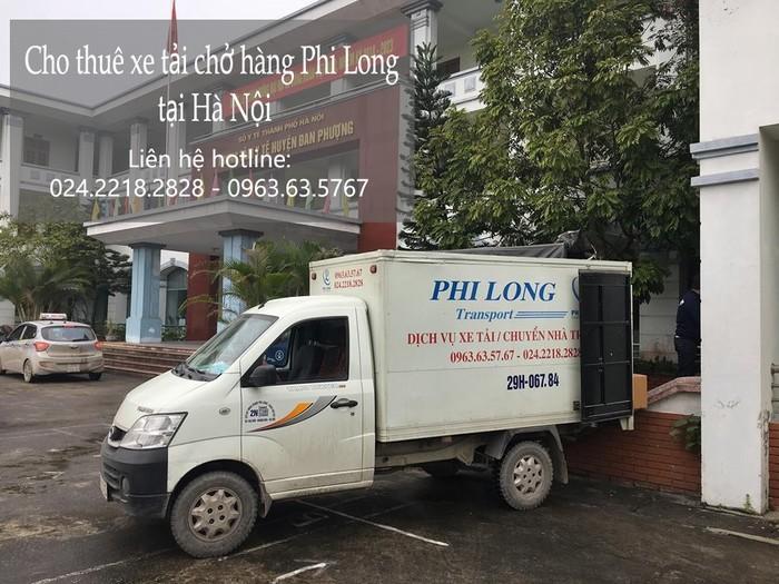 Taxi tải Hà Nội tại phố Ỷ Lan