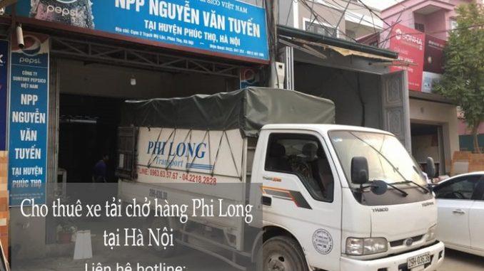 Taxi tải Hà Nội tại phố Ninh Hiệp