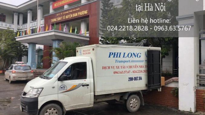 Taxi tải Hà Nội tại phố Nguyễn Huy Nhuận