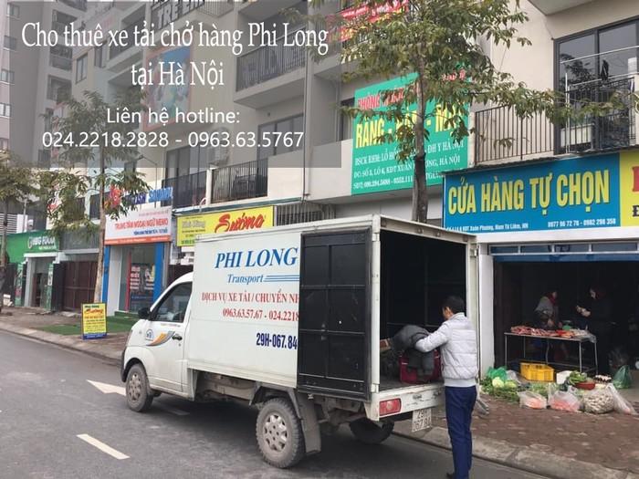 Taxi tải Hà Nội tại phố Kẻ Tạnh