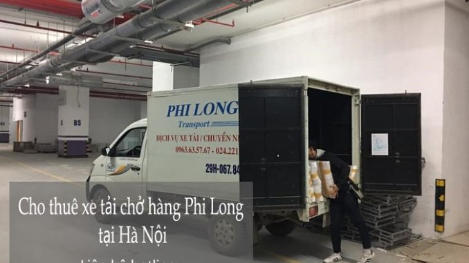 Dịch vụ taxi tải Hà Nội tại phố Ngô Thì Sĩ