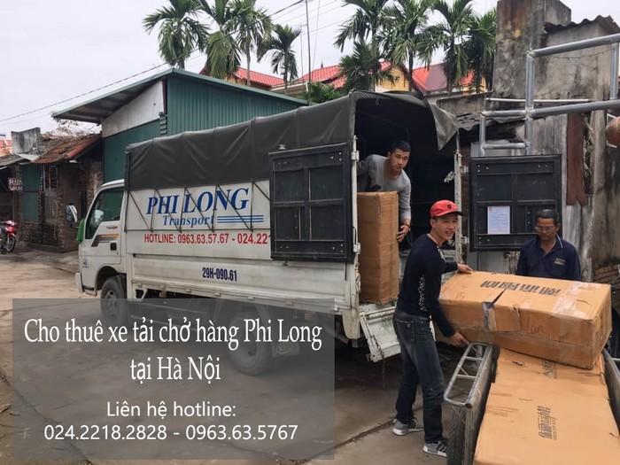 Taxi tải Hà Nội tại phố Lý Đạo Thành