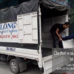 Dịch vụ taxi tải Hà Nội tại phố Nguyễn Khả Trạc
