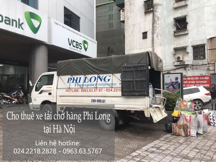 Dịch vụ taxi tải Hà Nội tại phố Mạc Thái Tông