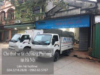 Dịch vụ taxi tải Hà Nội tại phố Nguyễn Quang Bích