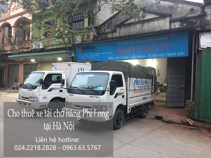 Dịch vụ taxi tải Hà Nội tại phố Nguyễn Chánh