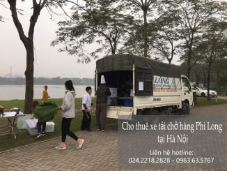 Dịch vụ taxi tải Hà Nội tại phố Cầu Đất