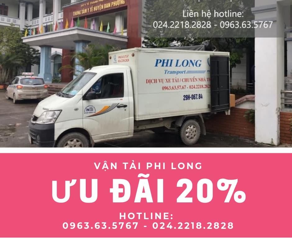 Dịch vụ taxi tải Hà Nội tại phố Nhật Chiêu