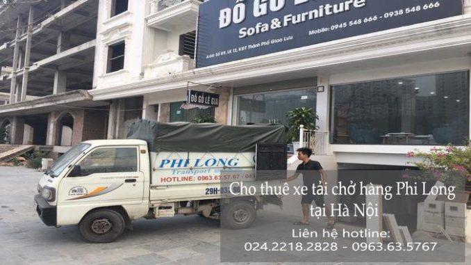 Dịch vụ taxi tải Hà Nội tại phố Khuyến Lương
