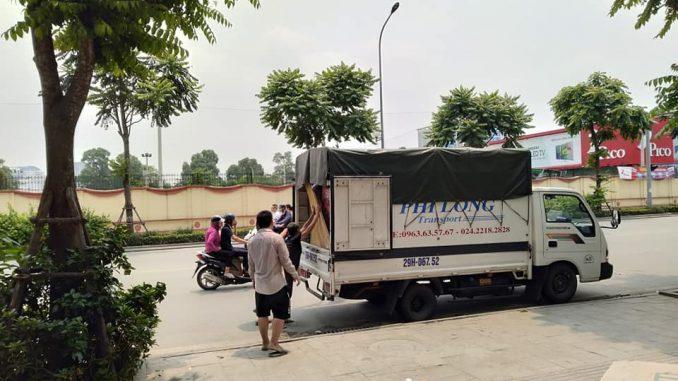Dịch vụ taxi tải Hà Nội tại phố Nguyễn Đình Tứ
