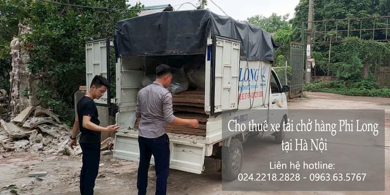 Dịch vụ taxi tải Hà Nội tại phố Quảng Khánh