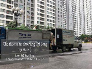 Dịch vụ taxi tải Hà Nội tại phố Tân Nhuệ