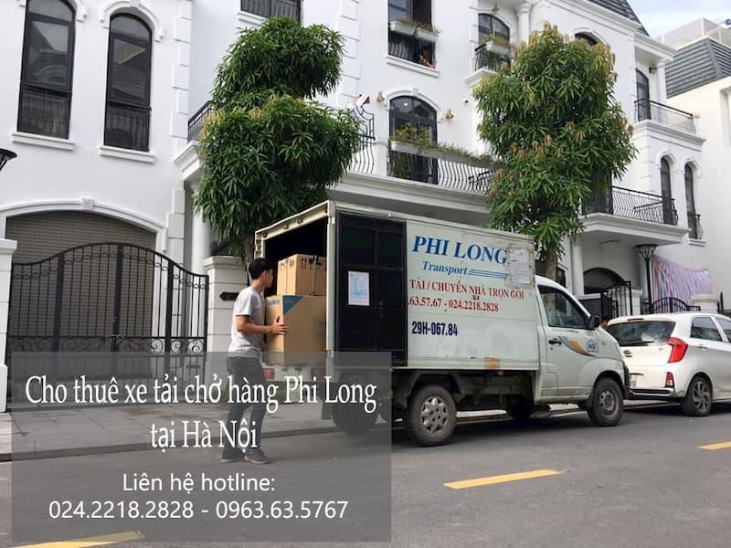 Dịch vụ taxi tải Hà Nội tại phố Sa Đôi