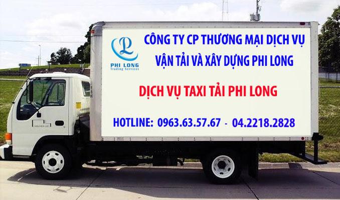 Taxi tải giá rẻ Hà Nội tại phố Đức Giang