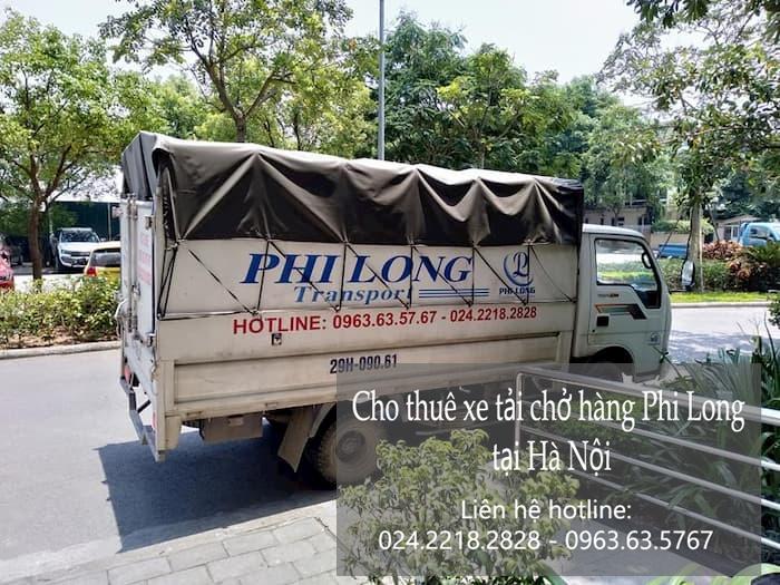 Dịch vụ taxi tải Hà Nội tại phố Phú Diễn 2019