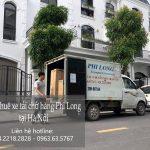 Dịch vụ taxi tải Hà Nội tại phố Vĩnh Quỳnh