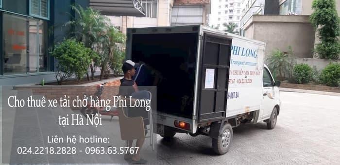 Dịch vụ taxi tải Hà Nội tại phố Nguyễn Cảnh Dị