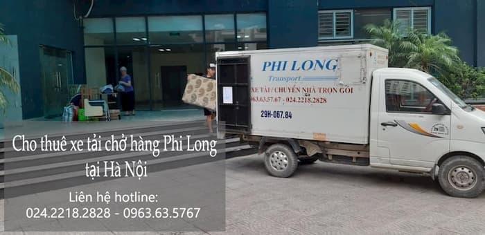 Dịch vụ taxi tải Hà Nội tại phố Hồng Quang