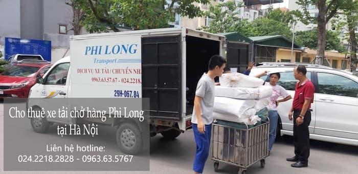 Dịch vụ taxi tải tại phố Lê Hữu Tựu