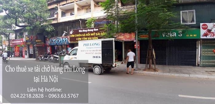 Dịch vụ taxi tải tại phố Phan Phù Tiên
