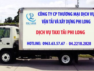Dịch vụ taxi tải Hà Nội tại phường Bạch Đằng