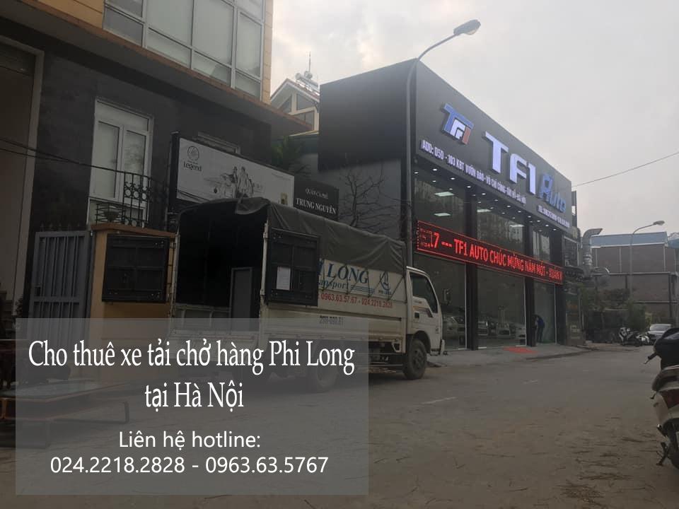 Hà nội cho thuê xe taxi tải tại phố Cao Xuân Huy