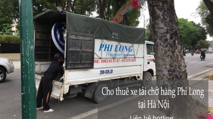 Dịch vụ taxi tải uy tín Hà Nội tại phố Cổ Nhuế