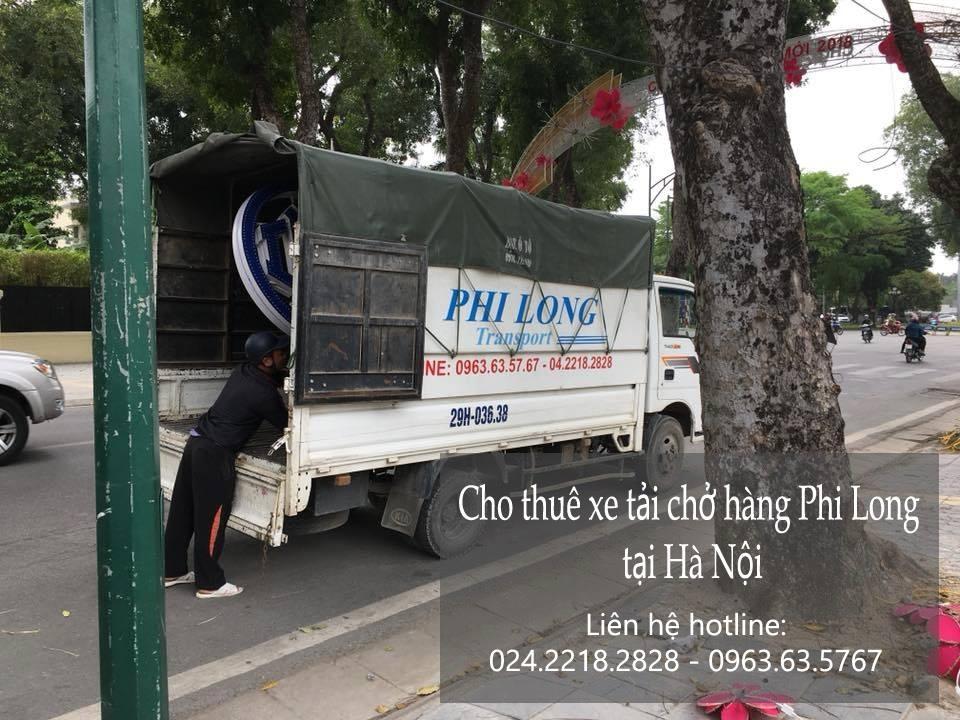 Dịch vụ xe tải Hà Nội tại phố Hồng Tiến