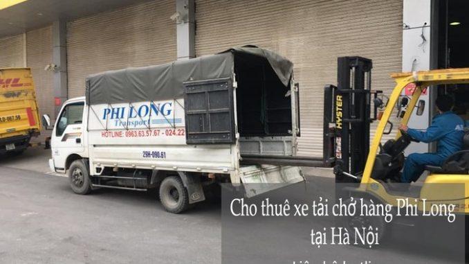 Dịch vụ xe tải Hà Nội tại phố Huỳnh Văn Nghệ