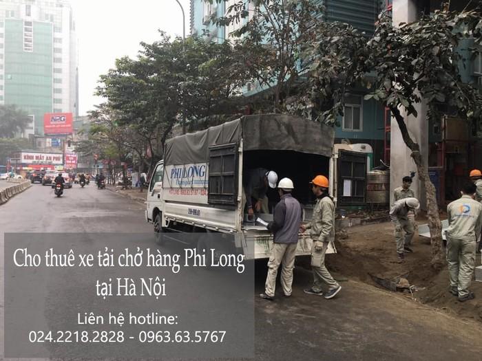 Taxi tải chuyên nghiệp Hà Nội tại phố Châu Văn Liêm