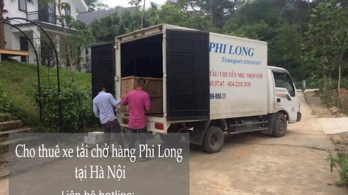 Dịch vụ taxi tải Hà Nội giá rẻ tại phố Dương Đình Nghệ