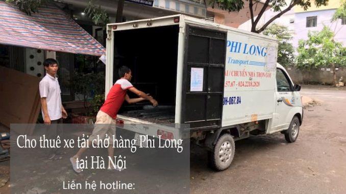 Dịch vụ taxi tải tại phường Quỳnh Mai