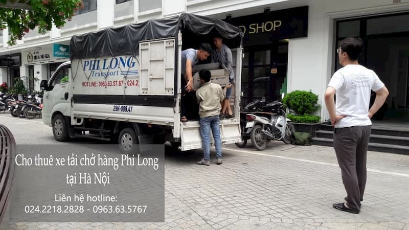 Taxi tải Phi Long giá rẻ tại phố Đỗ Nhuận