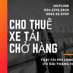 Dịch vụ taxi tải Hà Nội uy tín tại phố Kim Giang