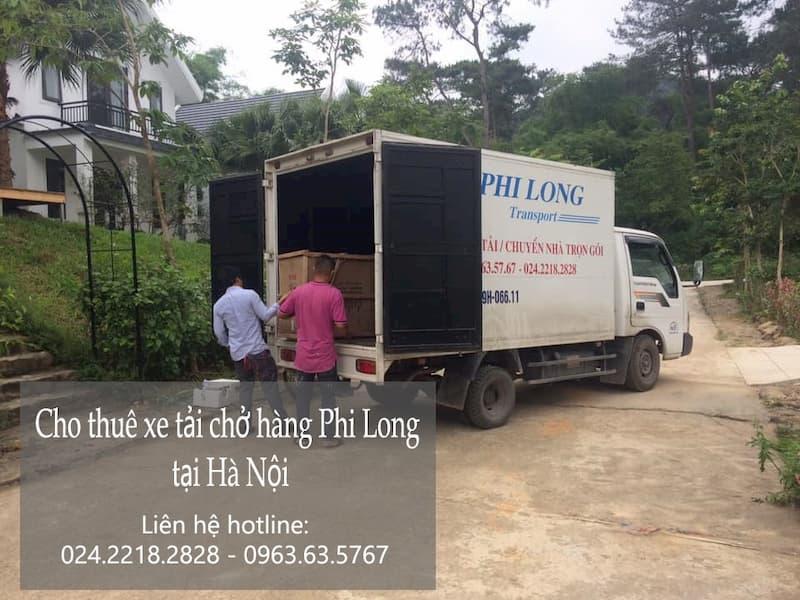 Taxi tải Hà Nội Phi Long tại phố Nguyễn Bình