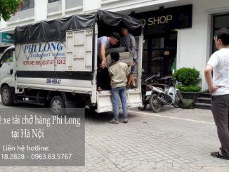 Dịch vụ taxi tải Hà Nội tại phố Dương Xá