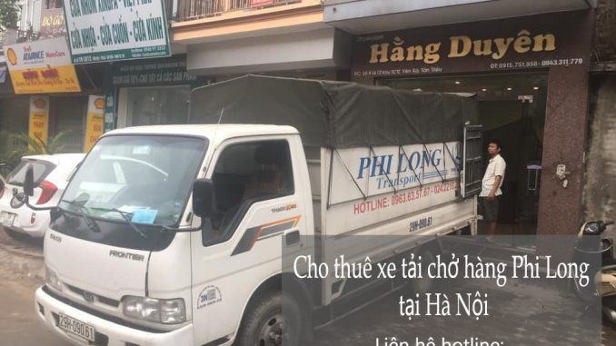 Dịch vụ taxi tải tại phường Trung Tự