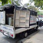 Hãng taxi tải Hà Nội uy tín tại phố Đội Cấn