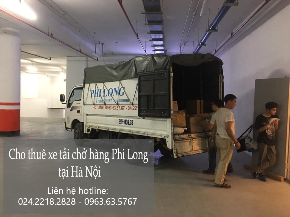 Hãng taxi tải Hà Nội trọn gói tại phố Cao Lỗ