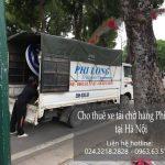Hãng xe tải Hà Nội trọn gói tại phố Đào Cam Mộc