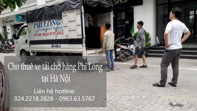 Dịch vụ xe tải chở hàng giảm giá 20% Phi Long phố Khúc Hạo