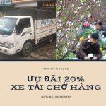 Dịch vụ cho thuê xe tải tại xã Xuân Nộn